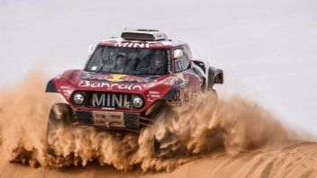 Dakar: AUTO: 6° Tappa - Ancora le Mini, Peterhansel vince su Sainz
