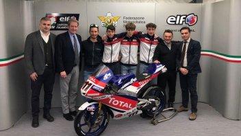 Moto3: Gresini cala il tridente nella stagione 2020 del CIV