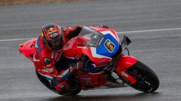 MotoGP: Intruder at SBK tests in Jerez: Stefan Bradl on the Honda MotoGP