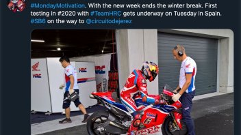 MotoGP: Domani la Honda già in pista con Bradl a Jerez