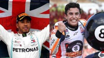 MotoGP: Formula 1 Vs MotoGP: Hamilton e Marquez in lizza per il Laureus Award