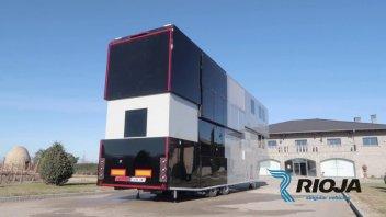 MotoGP: Dream Motorhome: here is Vinales' home in the paddock
