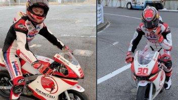 MotoGP: Nakagami torna in (mini)moto dopo l'operazione alla spalla
