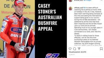MotoGP: Casey Stoner for Australia: his 2010 Aragon winning race suit up for auction