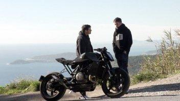 Moto - News: Charles Leclerc si regala una Special su base Husqvarna Vitpilen 701