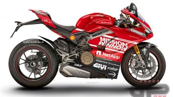 Moto - News: Ducati Project 1708, sensational tech specs of 234 hp and 152 kg