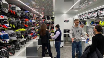 Moto - News: Airoh Tech Truck, a Verona tutti si sono sentiti dei veri piloti