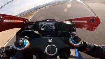 Moto - News: La Honda CBR 1000 RR-R affila le armi ad Almeria con Glenn Irwin