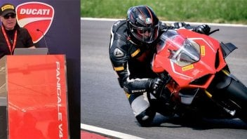 "Prodotto - News: Pennisi (Pirelli): ""The Panigale V4? SBK tyres to manage the 224 hp"""