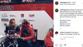 SBK: The new Ducati SBK 'tester' makes everyone's head spin