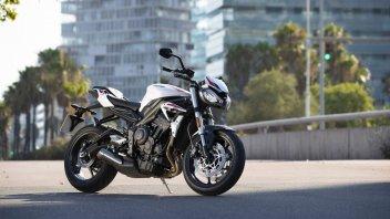 "Moto - News: Triumph Street Triple S 2020: 47.6 CV che ne ""valgono"" 95.2"