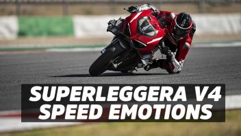 Moto - News: Ducati Superleggera V4, le emozioni della velocità