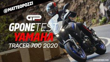 Moto - Test: Video prova Yamaha Tracer 700 2020: più matura, più sportiva