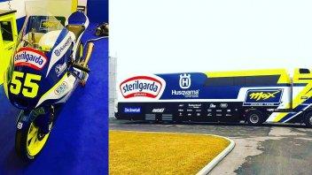 Moto3: Max Racing si veste di Husqvarna: giallo e blue per la moto di Fenati
