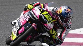 Moto3: Salac precede Foggia e Rodrigo a Losail. Arbolino 6°, Fenati attardato