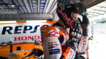 """MotoGP: A. Marquez: """"Oggi valgo tra la 10^ e la 15^ posizione"""""""