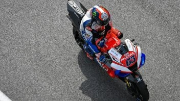 """MotoGP: Bagnaia: """"After the simulation, my hands, back, and feet were burning."""""""
