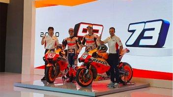 MotoGP: LIVE Presentazione Team Honda HRC: i Marquez nei colori Repsol