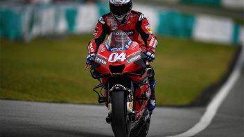 """MotoGP: Dovizioso: """"Le nuove Michelin sono un vantaggio per Yamaha e Suzuki"""""""