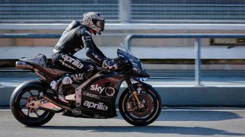 "MotoGP: A. Espargarò: ""Thanks to Aprilia and the men from Noale. A revolution"""