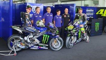 MotoGP: LIVE Presentazione Team Monster Yamaha: la M1 di Rossi e Vinales