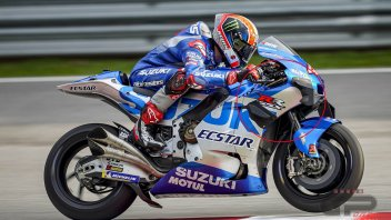 """MotoGP: La Suzuki cambia le ali. Rins: """"La GSX-RR ora frena molto meglio"""""""