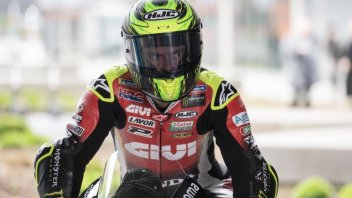 """MotoGP: Crutchlow: """"The Honda seems to go faster with used tires."""""""