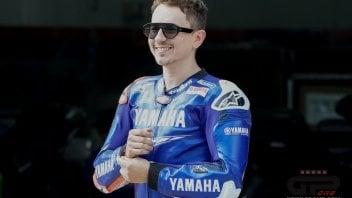 MotoGP: THE PICTURE. Jorge Lorenzo in Yamaha leather again