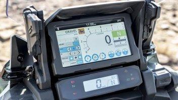 Moto - News: TECNICA - il Touch TFT della nuova CRF1100L Africa Twin