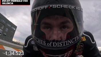 Moto - News: Onboard da record di Redding a Valencia sulla Ducati Panigale V4 2020