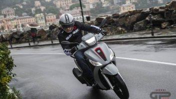 Moto - Test: Prova Piaggio Medley 125 e 150 2020: il ruote alte di mezzo si rinnova