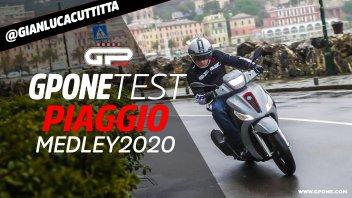 Moto - Test: Video prova Piaggio Medley 125 e 150 2020, attacco agli SH?