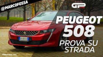 Auto - Test: Prova Peugeot 508: l'ammiraglia francese da 225 CV