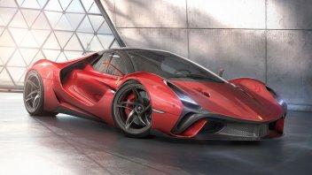 Auto - News: Ferrari Stallone: una Hyper Car favolosa nel concept di Murray Sharp