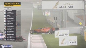 Auto - News: Formula 1 - Virtual GP del Bahrain ecco gli highlights della gara