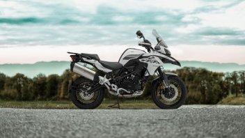 Moto - News: Benelli TRK 502 X M.Y. 2020: piccoli ritocchi all'enduro on-off