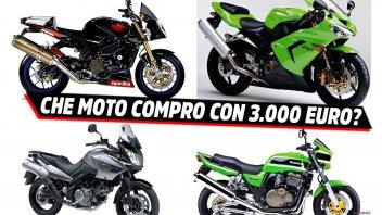 Moto - News: Voglia di moto e 3.000 euro: ecco cosa comprare