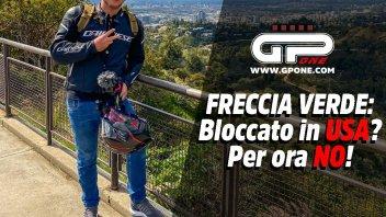 """Moto - News: Freccia Verde: """"Bloccato in USA? Per ora no!"""""""