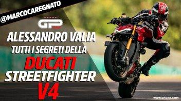 Moto - News: Ducati Streetfighter V4: tutti i segreti svelati da Alessandro Valia
