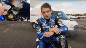 Moto - News: Sylvain Guintoli vi spiega come fare l'assetto alla Suzuki GSX-R 1000
