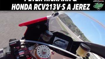 Moto - News: ONBOARD - Peter Hickman spreme al limite una Honda RCV 213 V-S a Jerez
