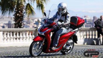 Moto - Test: Nuovo Honda SH 125/150 2020 : tutta mia la città