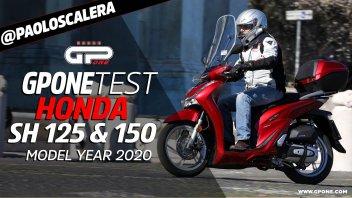 Moto - Test: Prova SH125/150: possibile migliorare il migliore? Honda ci è riuscita