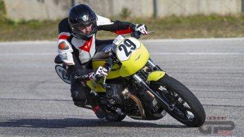 Moto - Test: Moto Guzzi V7 Trofeo: una moto da corsa a prova di debuttante