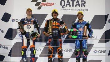 """Moto2: Baldassarri: """"Io e Bastianini ci siamo fatti scappare la vittoria"""""""