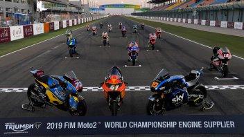 Moto2: Triumph: un tridente di premi nel 2020 con il Triple Trophy
