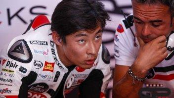 """Moto3: GP Qatar, Suzuki: """"la manata di Lopez? Mi stavo facendo i cavoli miei"""""""