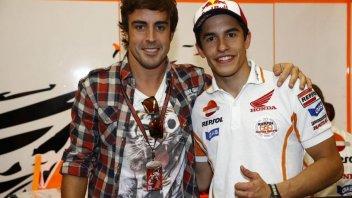 """MotoGP: Marquez a Alonso: """"Quando siamo in giro ci manca casa, ora i circuiti"""""""