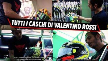 MotoGP: La stanza segreta di Valentino Rossi: ecco i suoi caschi preferiti