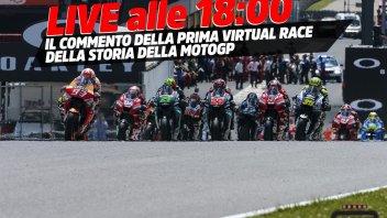 MotoGP: LIVE - #StayAtHomeGP: il commento della prima storica gara virtuale